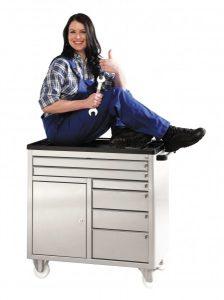 rvs gereedschapswagen