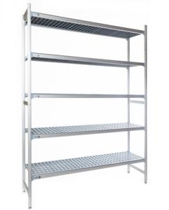 aluminium stelling 5 schappen
