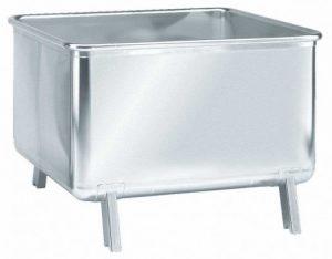 stapelbare rvs container